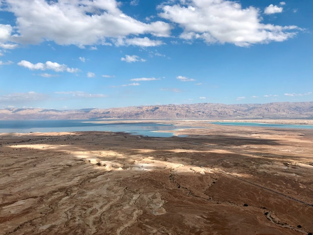 trip with a driver in israel to masada national park
